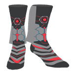 DC Comics - Justice League - Cyborg Caped Crew Socks - Packshot 1