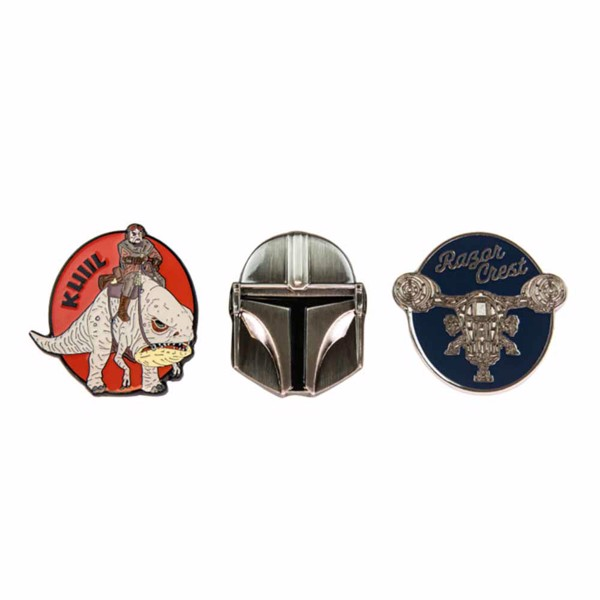 Star Wars - The Mandalorian - Pin Set - Packshot 3