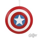 Marvel - Captain America's Shield Hallmark Resin Ornament - Packshot 1