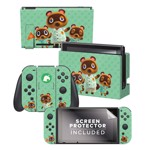 Animal Crossing - Controller Gear Tom Nook & Friends Nintendo Switch Decal - Packshot 1