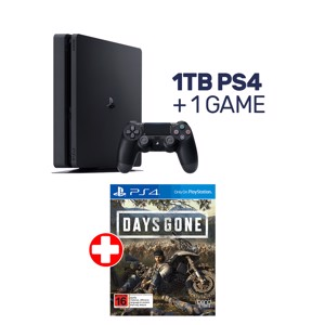 1TB PlayStation 4 Console + 1 Game