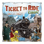 Ticket to Ride: Europe Board Game - Packshot 1