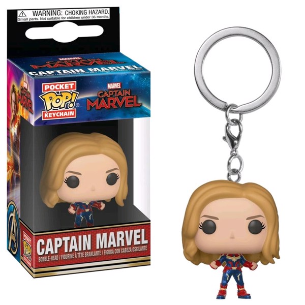 Marvel - Captain Marvel - Captain Marvel Pocket Pop! Keychain - Packshot 1