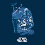 Star Wars - Bounty Hunter Collage T-Shirt - Packshot 2