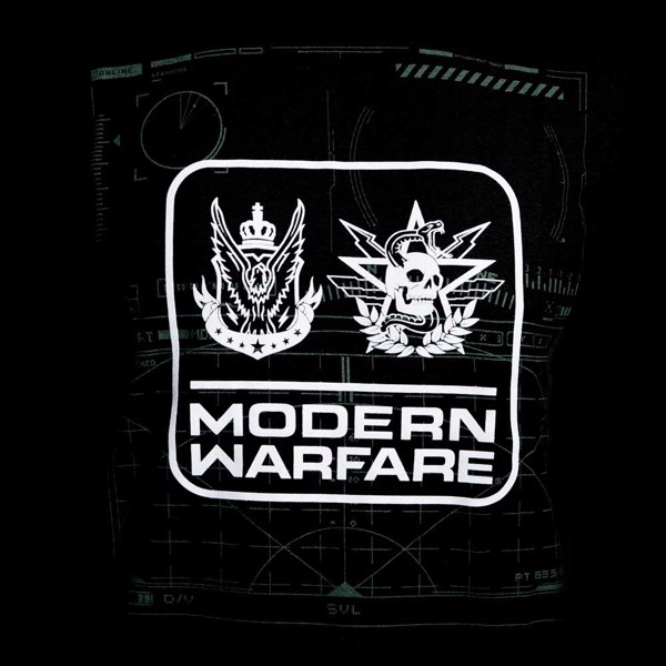 Call of Duty: Modern Warfare - Badges Black T-shirt - S - Packshot 2