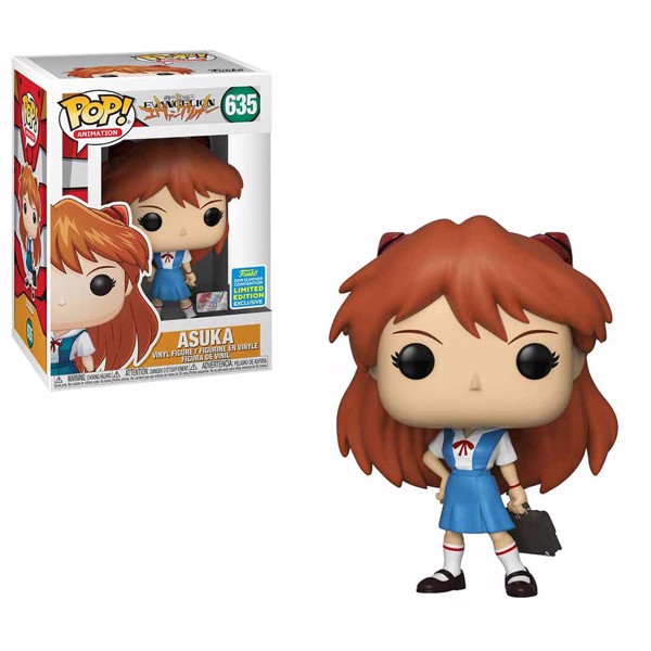 Neon Genesis Evangelion - Asuka in Uniform SDCC19 Pop! Vinyl Figure - Packshot 1