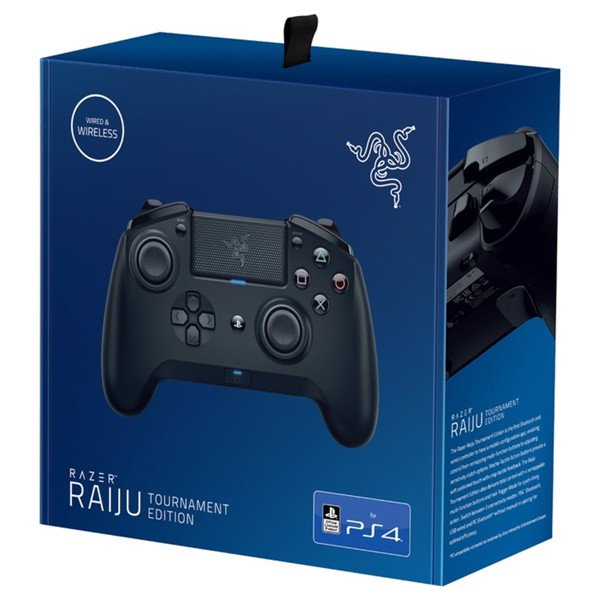 Razer Raiju Tournament Edition Playstation 4 Controller Playstation 4 Eb Games New Zealand The razer raiju tournament edition offers a competitive edge and premium feel… at a premium price. razer raiju tournament edition playstation 4 controller