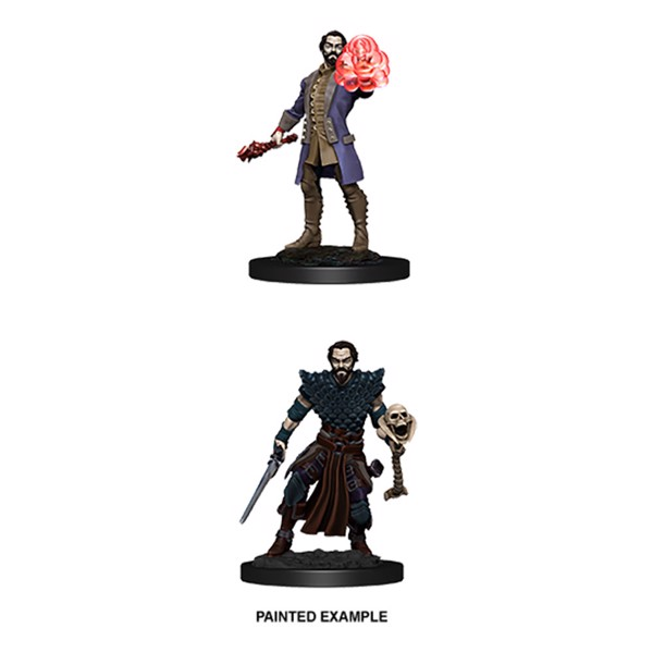 Dungeons & Dragons - Nolzur's Marvelous Miniatures - Male Human Warlock - Packshot 2
