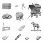 Dungeons & Dragons - Nolzur's Marvelous Miniatures - Adventurers Campsite - Packshot 1