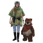 Star Wars - Leia & Wicket Return of the Jedi 1/6 Scale Acton Figure - Packshot 1