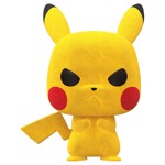 Pokemon - Grumpy Pikachu Flocked NYCC2020 Pop! Vinyl Figure - Packshot 1