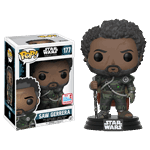Star Wars - Rogue One - Saw Gerrera With Hair NYCC17 Pop! Vinyl Figure - Packshot 1