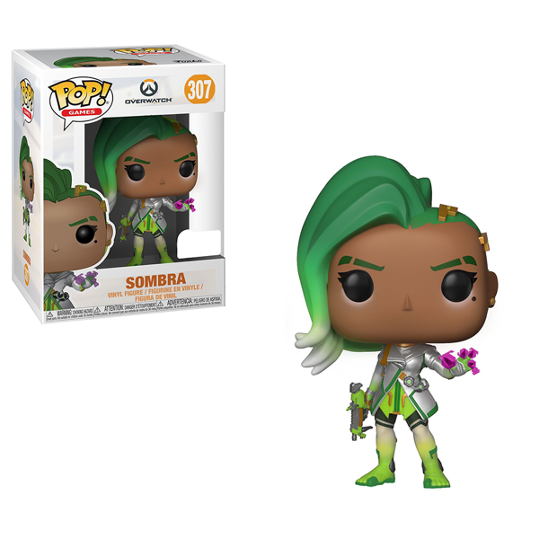 Overwatch - Sombra (Glitch) Pop! Vinyl Figure - Packshot 1