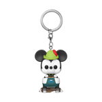 Disney - Disneyland 65th Anniversary Mickey on Matterhorn Pocket Pop! Keychain - Packshot 1