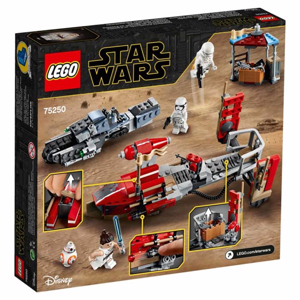 Star Wars - LEGO Pasaana Speeder Chase Construction Kit - Packshot 5