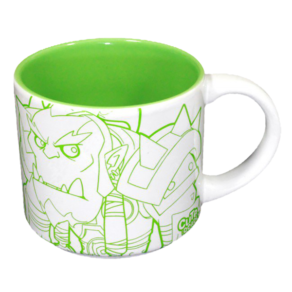 Cute But Deadly Character Mug - Green - Packshot 1