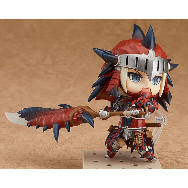 Monster Hunter - Female Hunter in Rathalos Armor Edition Nendoroid  - Packshot 2