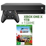 Xbox One X 1TB Console + 1 Game - Packshot 1