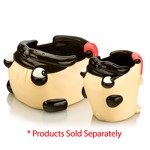 Pug Snack Moulded Bowl - Packshot 3