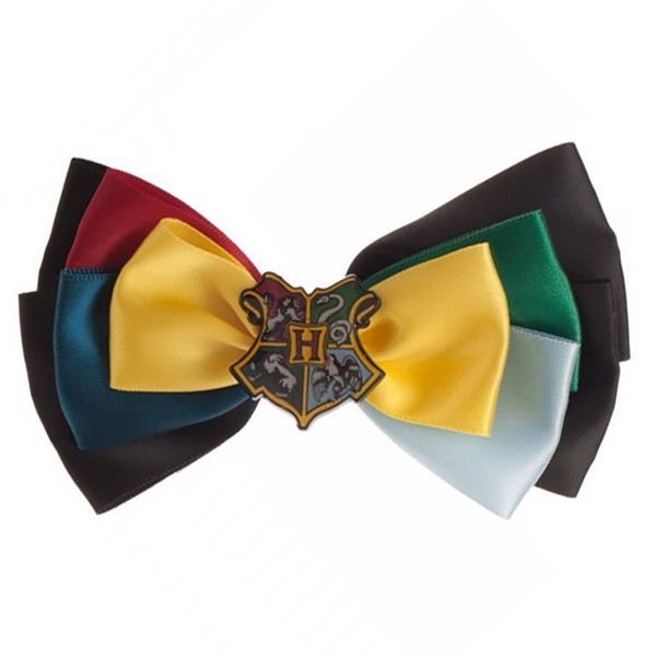 Harry Potter - Hogwarts Houses Crest Hair Bow - Packshot 1