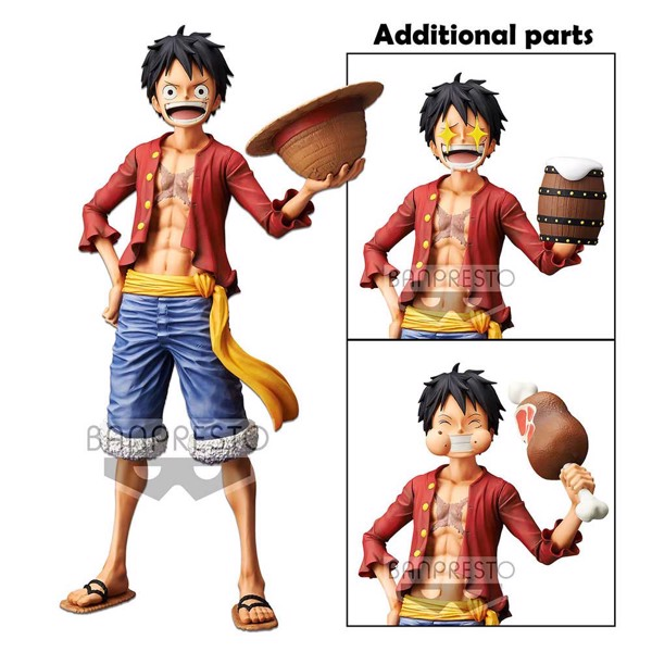 One Piece - Monkey D. Luffy  28 cm Grandista Nero Figure - Packshot 6