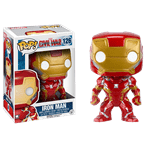 Marvel - Captain America: Civil War - Iron Man Pop! Vinyl Figure - Packshot 1