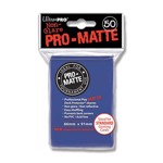 Ultra Pro Card Sleeves - Pro Matte: Blue (50 Pack) - Packshot 1
