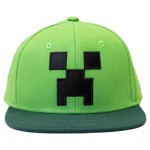 Minecraft - Creeper Green Snapback Cap - Packshot 1