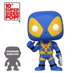"Marvel - Deadpool - Thumbs Up Blue 10"" Pop! Vinyl Figure - Packshot 1"
