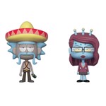 Rick and Morty - Rick with Sombrero and Unity Vynl Figures 2-Pack  - Packshot 1