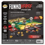 Funkoverse - Jurassic Park Funkoverse Strategy Game 4-Pack - Packshot 2