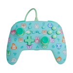 Nintendo Switch PowerA Wired Enhanced Controller - Animal Crossing Blue - Packshot 1
