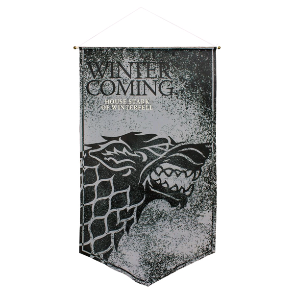 Game of Thrones - Stark of Winterfell Satin Banner - Packshot 1
