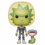 Rick and Morty - Rick Space Suit with Snake Pop! Vinyl Figure - Packshot 1