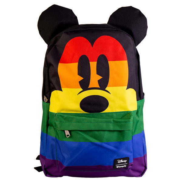 c554e7de550 Disney - Mickey Mouse Rainbow Loungefly Backpack - ZiNG Pop Culture