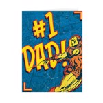 Marvel - NO 1 Dad Fathers Day Card - Packshot 1