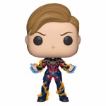 Marvel - Avengers: Endgame Captain Marvel New Hair Pop! Vinyl Figure - Packshot 1