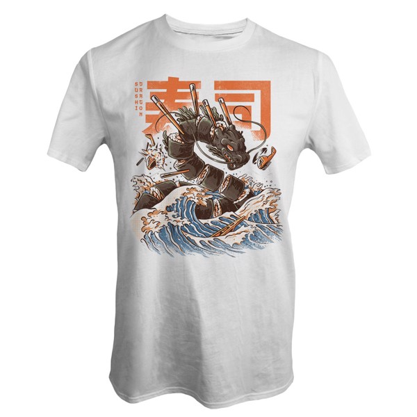 The Great Sushi Dragon T-Shirt - XXL - Packshot 1