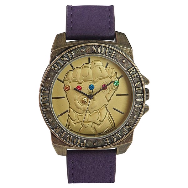 24f1dba6f9d6 Marvel - Avengers: Infinity War - Infinity War Gauntlet Watch with  Adjustable Strap - Packshot