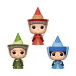 Disney - Sleeping Beauty - Flora, Fauna & Merrywather ECCC2020 Pop! Vinyl Figure 3-Pack - Packshot 1