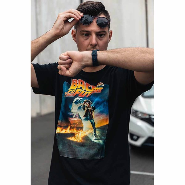 Universal - Back To The Future Poster T-Shirt - XXL - Packshot 3