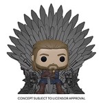 Game of Thrones - Eddard Stark on Iron Throne Deluxe Pop! Vinyl Figure - Packshot 1