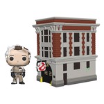 Ghostbusters - Peter With Firehouse Pop! Town Vinyl Figure - Packshot 1