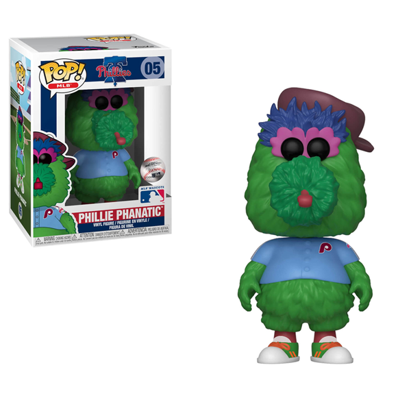 MLB - Phillie Phanatic Pop! Vinyl Figure - Packshot 1