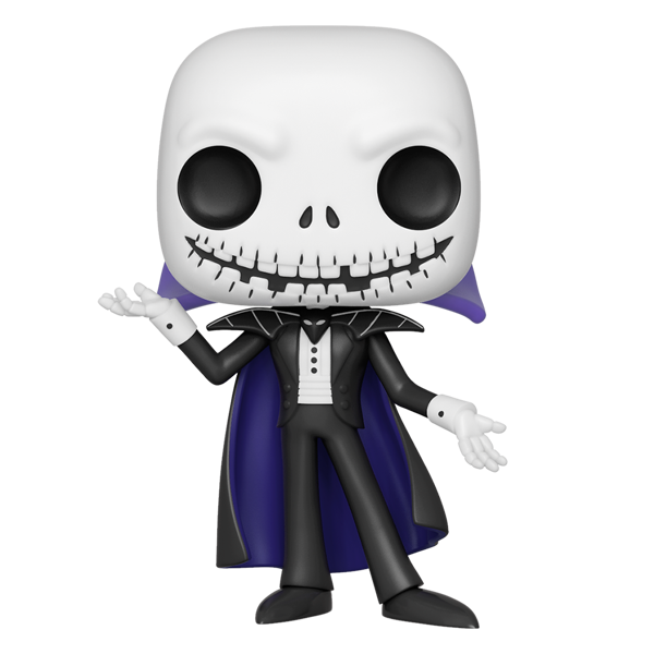 Nightmare Before Christmas - Jack Vampire Glow Pop! Vinyl Figure - Packshot 1