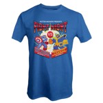Marvel - Marvel 80th Anniversary - Marvel Fight Night Blue T-Shirt - XXL - Packshot 1