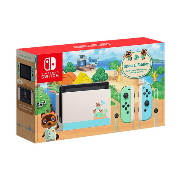 Nintendo Switch Animal Crossing New Horizons Special Edition Console - Packshot 1