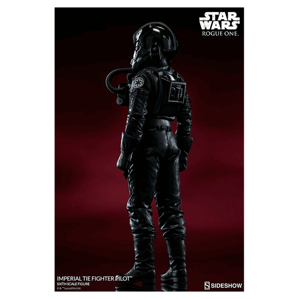 Star Wars - Rogue One - TIE Fighter Pilot 1/6 Scale Action Figure - Packshot 3