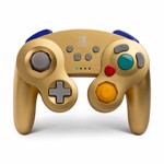 Nintendo Switch PowerA Wireless Gamecube Controller - Gold - Packshot 1
