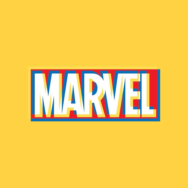 Marvel - Marvel Offset Logo Yellow T-Shirt - XXL - Packshot 2
